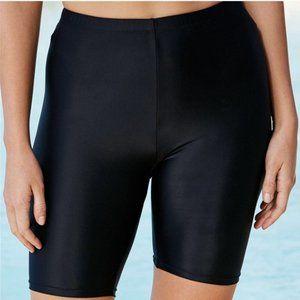 Swimsuits For All Long Bike Shorts Swim Bottom